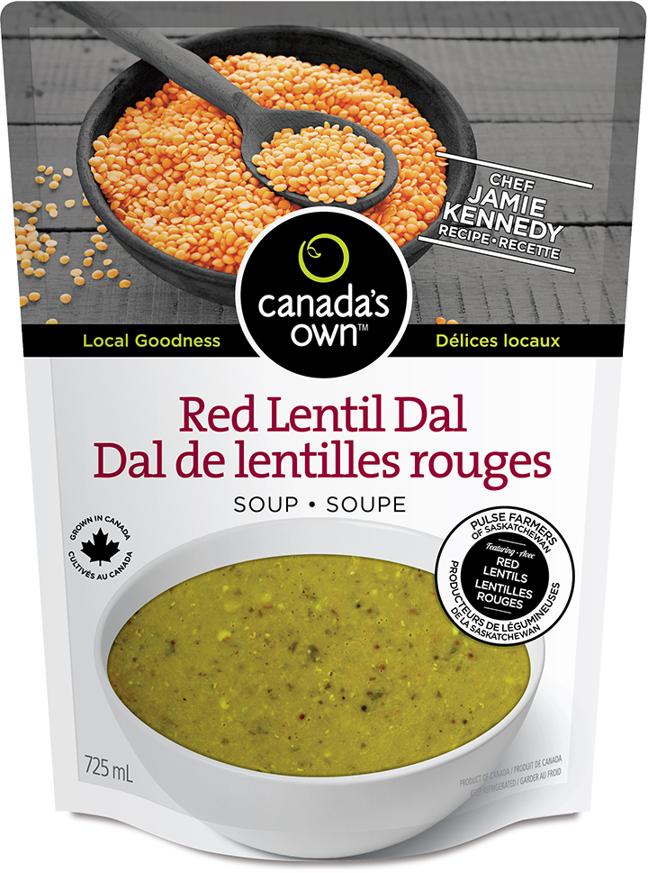 Red Lentil Dal - Canada's Own